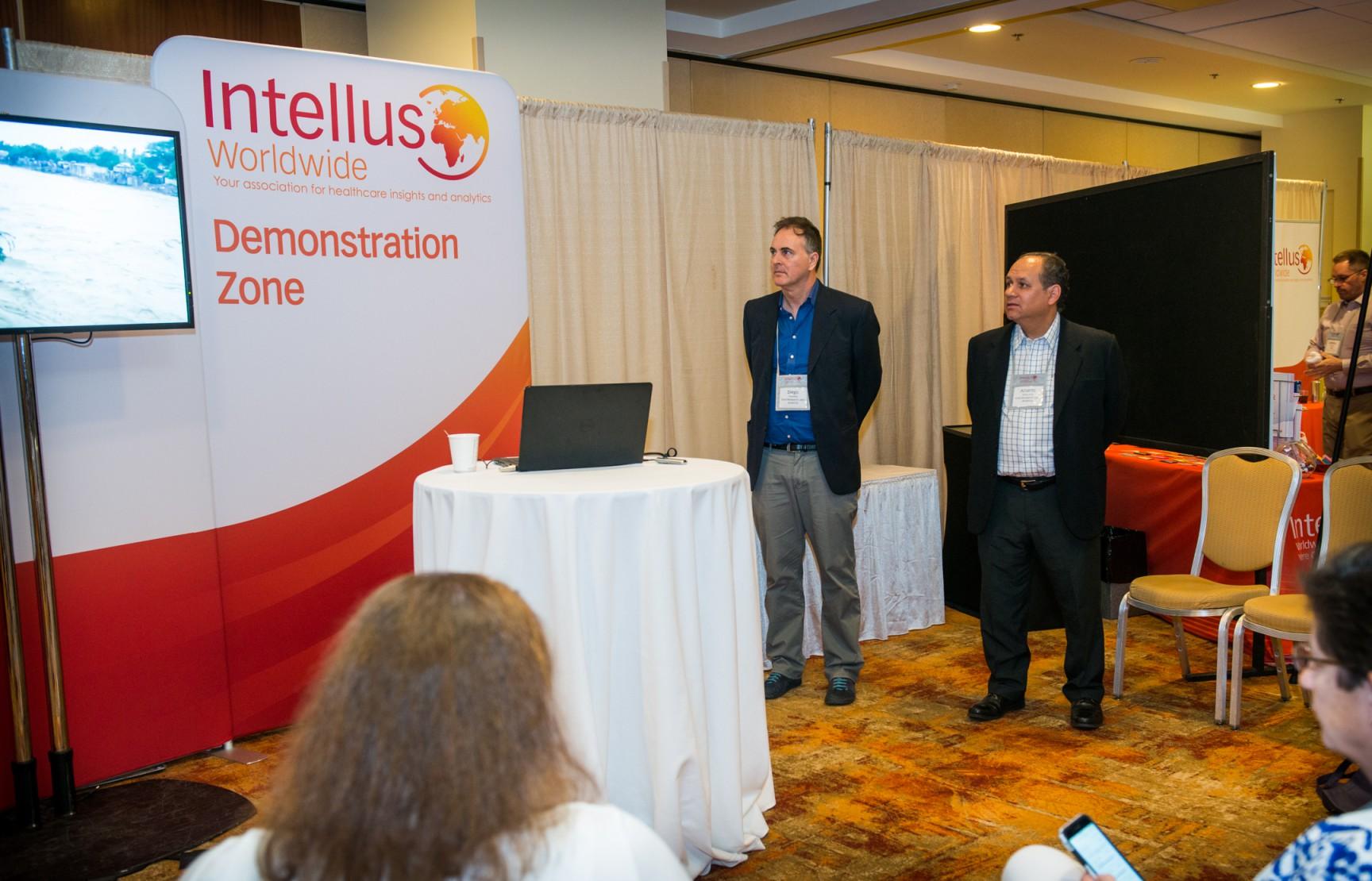 Fine Research exhibe y presenta en Filadelfia, EE. UU., en la primera conferencia de Intellus Worldwide.
