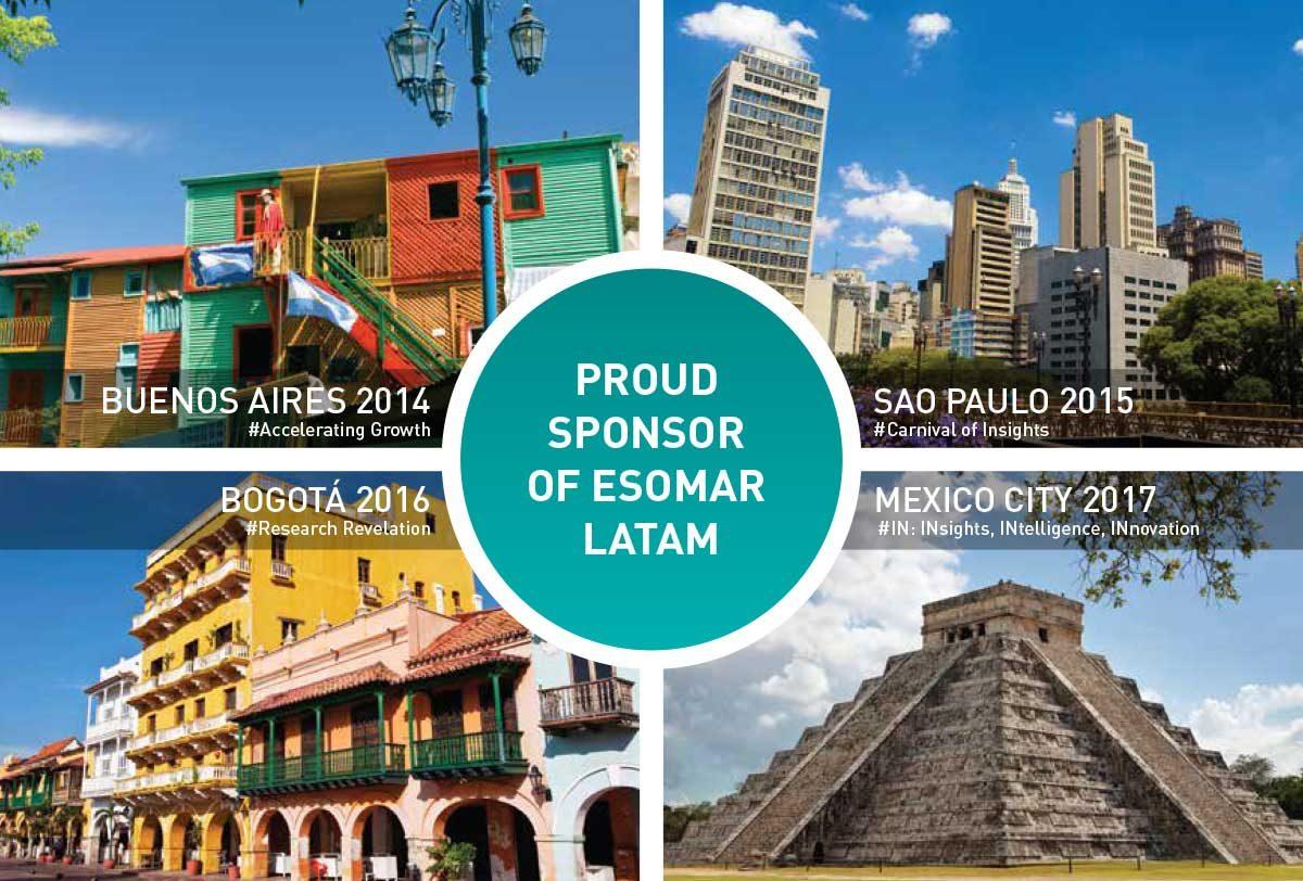 FINE sponsors last 4 ESOMAR LatAm conferences