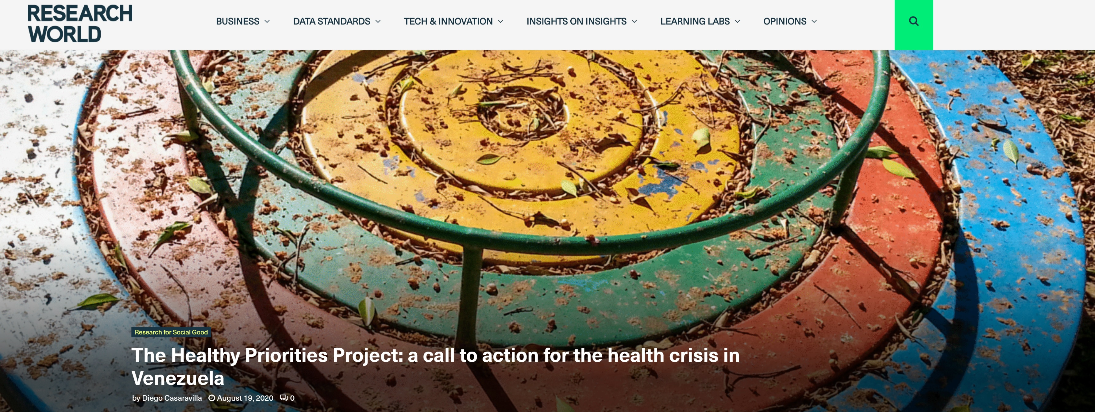 Estudo desenvolvido pela Fine Panel para a Save the Children identifica os principais desafios da saúde na Venezuela