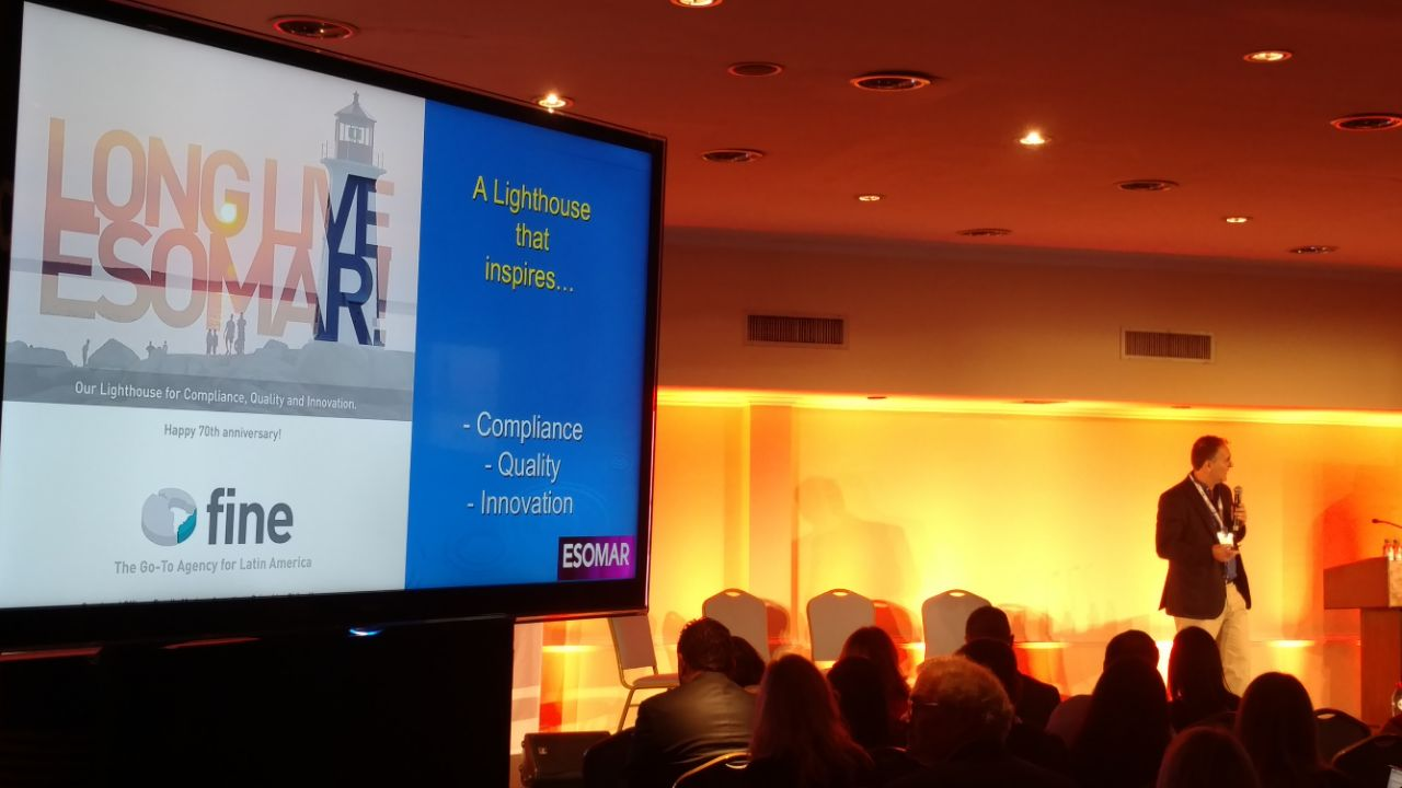 FINE proud to have had an active role at ESOMAR LatAm Fest