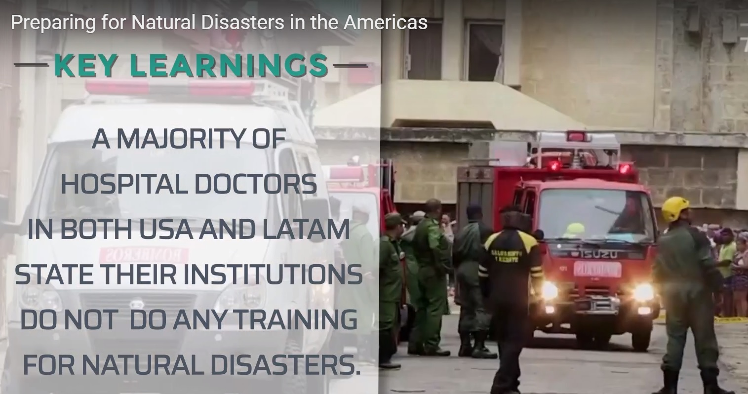 FINE releases large survey about preparedness for natural disasters in the region. See the video